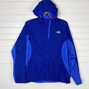The North Face Blue Rain Jacket Size Large